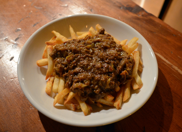 curry and fries - small